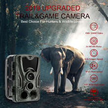 2019 new 2G MMS Hunting Trail Camera Wildlife Cameras Infrared Photo traps 16MP 1080P Night Vision Hunter Camera Chasse HC801M цена и фото