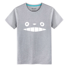 2017 Japanese Animation Totoro T-shirts 100% Cotton Spring&Summer wear T-shirts for men