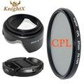 KnightX polarizer filter CPL Filter Lens cleaning Kit for Canon Pentax Sony Nikon D80 D90 D3000 D3100 D7000 D5200 D5100 5D 6D 7D