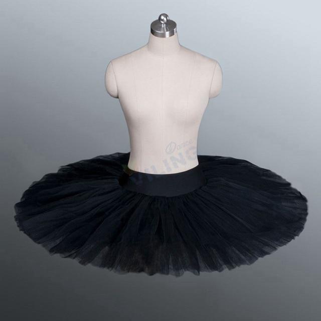ballett tutu rehearsal tutu rock schwarz ballett halb tutu. Black Bedroom Furniture Sets. Home Design Ideas