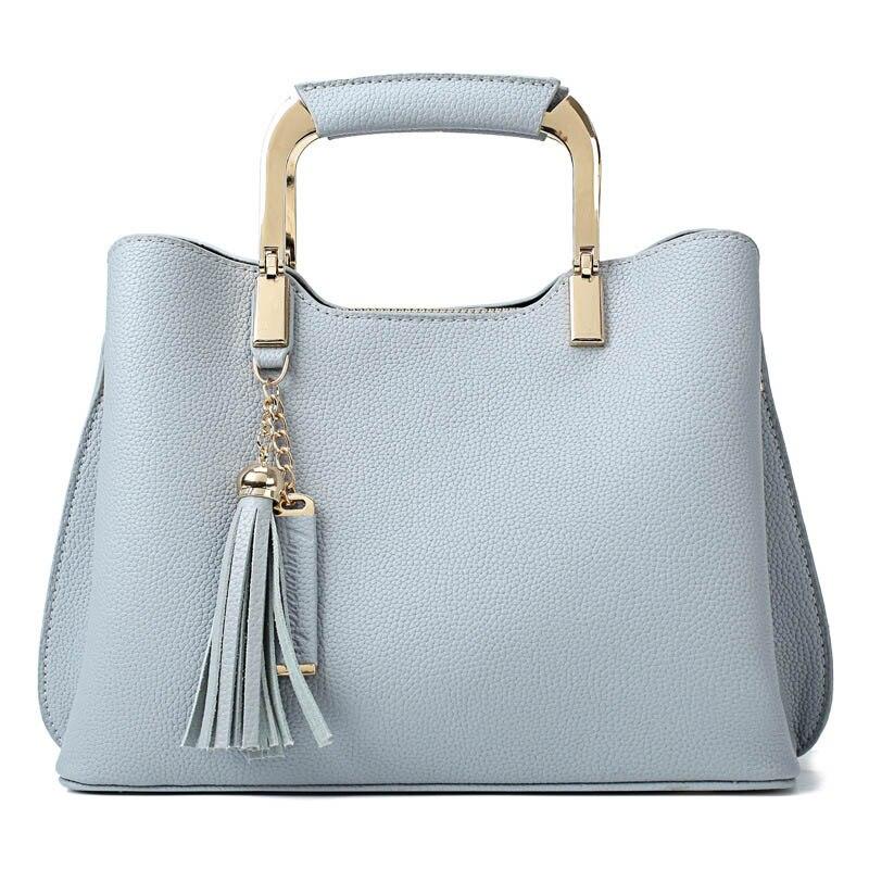Luxury Designer Handbags Genuine Leather Women Messenger Shoulder Bags Tassel Sac Female Bolsa Famous Brands High Quality Bags shoulder bag