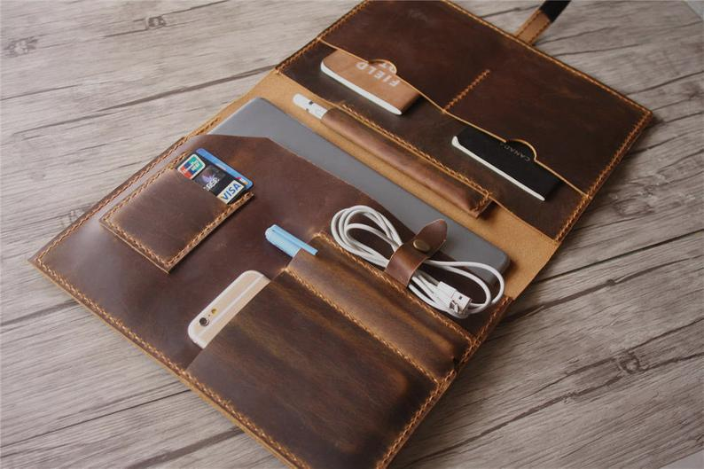 Distressed Brown genuine leather portfolio iPad Pro 10.5 Case 11 iPad Pro Sleeve Leather 12.9 iPad Covers Apple Pencil HolderDistressed Brown genuine leather portfolio iPad Pro 10.5 Case 11 iPad Pro Sleeve Leather 12.9 iPad Covers Apple Pencil Holder
