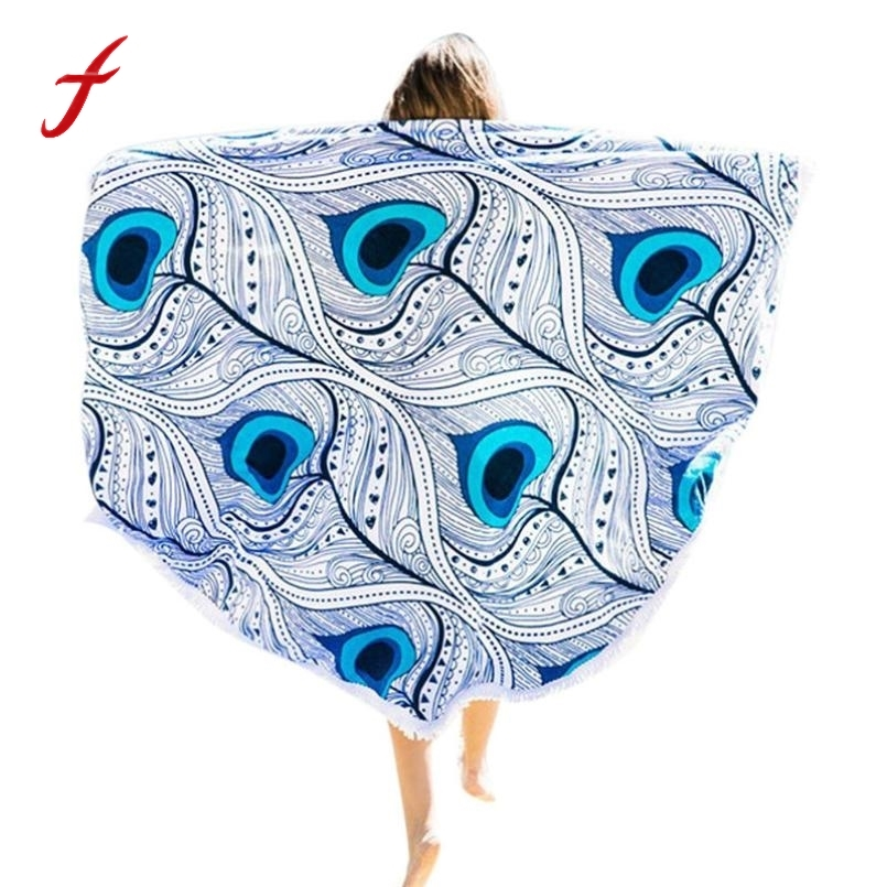 Good Quality Beach Pool Home Shower Towel Blanket Table Cloth Yoga Mat Women Sandy Swimming Plage Sunbath Toalla Playa
