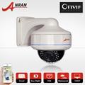 2.0 Megapixel 1080 P HD Onvif Outdoor Vandal-Proof Dome POE Rede IP Câmera de Segurança CCTV Câmera de Vigilância Sem Fio vídeo