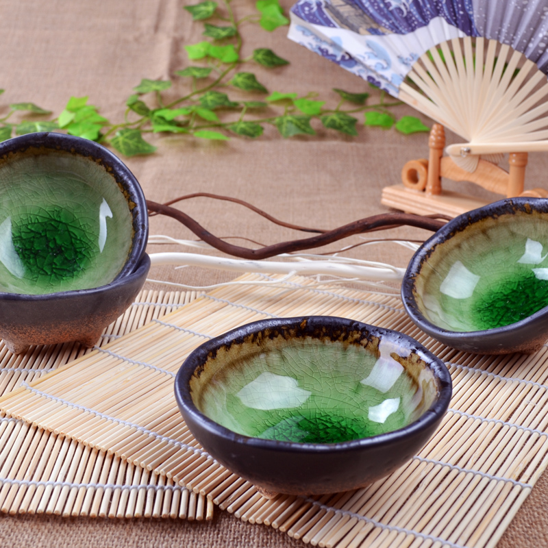 Mustard dish / ceramic Weidie / mezze dish / cold dish d / plate / Japanese seaweed ice and wind dish ...