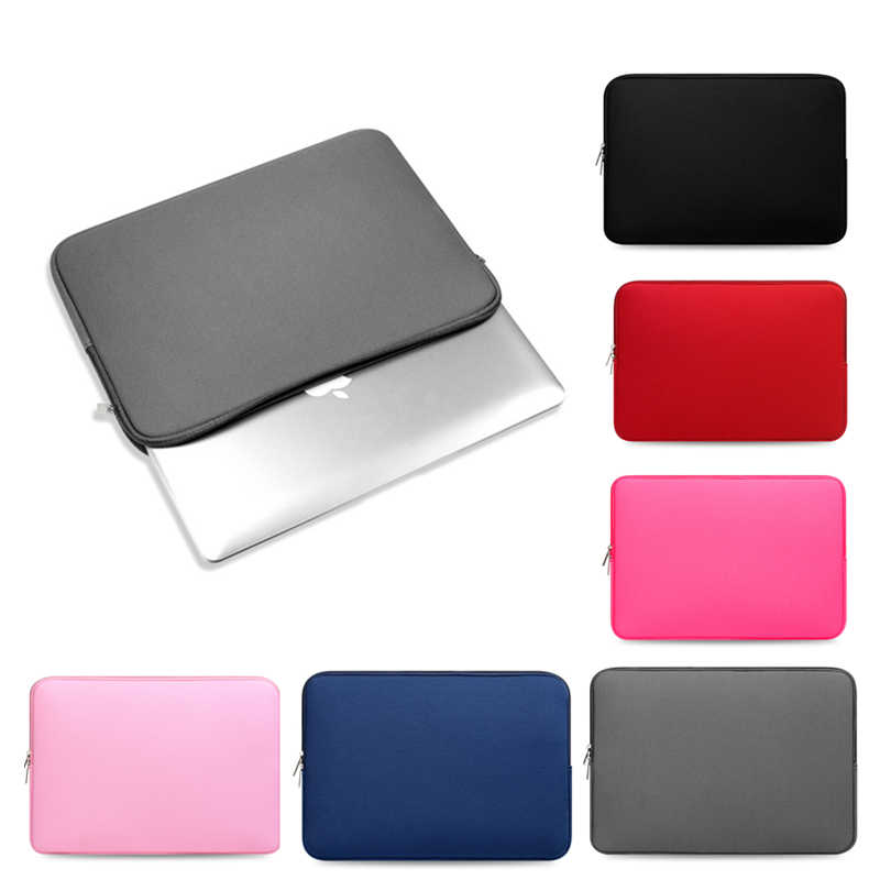 11.6 13.3 15.4 15.6 Laptop Bag Sleeve for Macbook Air Pro Retina 11 13 15 inch Notebook Pouch Cover Case for Xiaomi Pro 15.6