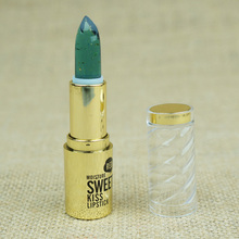 1pcs  change colour Sexy Lipstick Cosmetic Makeup Long Lasting waterproof Lipstick Lip Stick transparent Colors