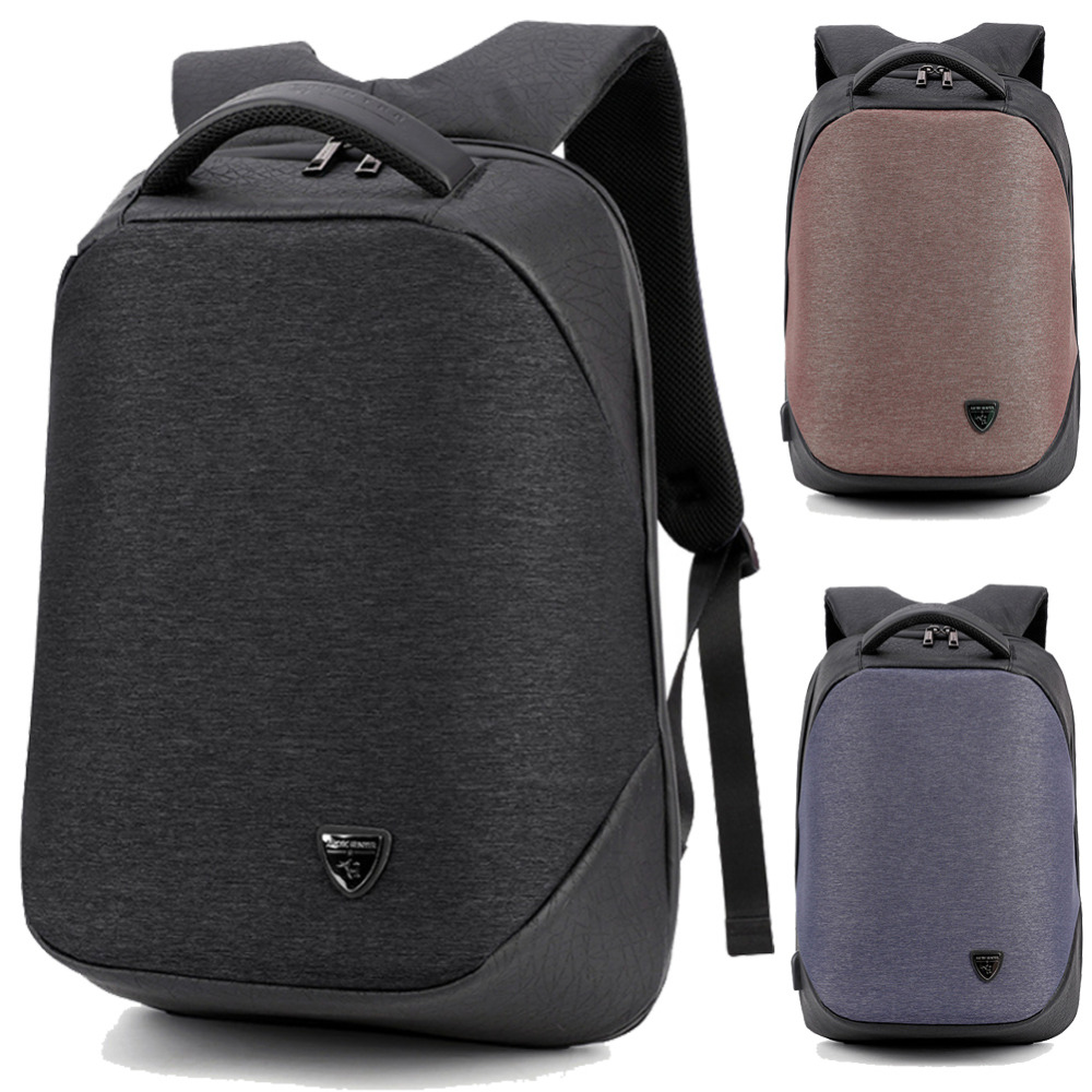 15 15.6 Inch with USB Interface Waterproof Nylon Laptop Notebook Backpack Bags Case School Backpack for Men Women Business