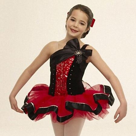 """""""Leotard Professional Tutus"""" korėjietiškų vaikų šokių kostiumas """"Tutu"""" sijonas mergaičių vaikų šokių treniruotėms tinka rudenį / žiemą"""