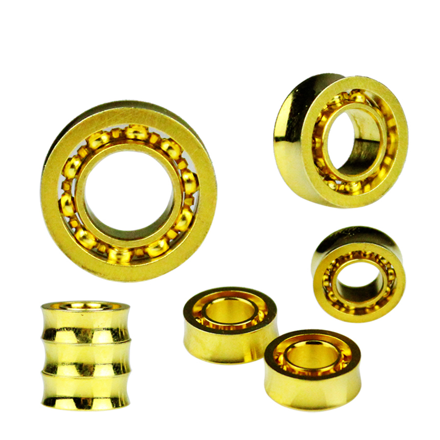 Hospitable New Arrive 1pcs Gold 10 Ball Style Yoyo Bearing Professional Yoyo Bearing Toys Metal Yo-yo Bearing Children Gifts Classic Toys A Complete Range Of Specifications