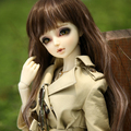 bjd accessories original 1/3 bjd AS female clothes fashion trenchcoat Bjd doll clothing doll costume clothes all-match