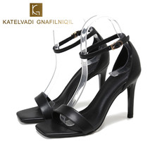 Summer Gladiator Sandals Women Shoes Bla