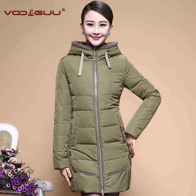 2015 Hot New Thicken Warm Woman Down jacket Coat Parkas Outerwear Luxury Hooded Long Slim Plus Size 4XXXXL Leisure  White duck 2015 new hot thicken warm woman down jacket coat parkas outerwear mid long plus size 2xxl luxury brand slim hooded red wine