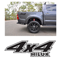 free shipping 1PC off road hilux4x4  body rear tail side graphic vinyl for TOYOTA HILUX REVO VIGO decals