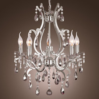 110V 220V Chandeliers Modern LED Crystal Chandelier Lamp With 5 Lights Lustre De Crystal Lustres De