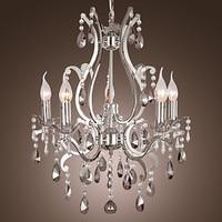 110V 220V Chandeliers Modern LED Crystal Chandelier Lamp With 5 Lights Lustre De Crystal Lustres De