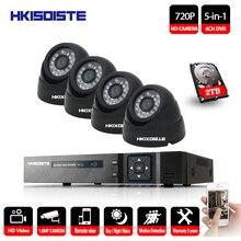 4CH CCTV System 4PCS 2000TVL indoor outdoor security Camera 4CH 1080P DVR Day/Night 720P HD Camera Kit Video Surveillance System