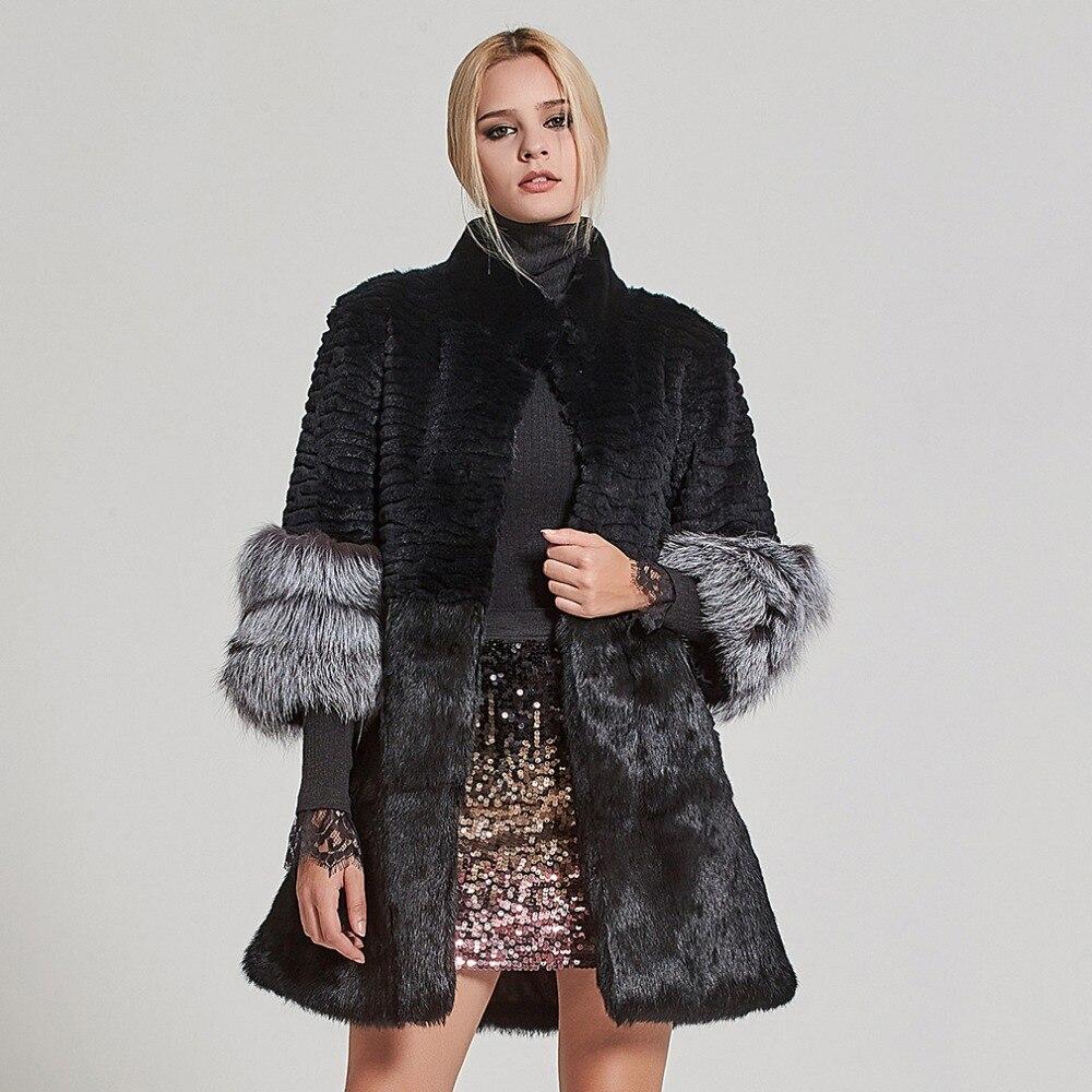 ขนสัตว์ Story ผู้หญิงขนสัตว์จริงขนสัตว์กระต่ายเสื้อแจ็คเก็ตขนสัตว์ฤดูหนาวหนาอุ่นเสื้อกันหนาว 17160-ใน ขนสัตว์จริง จาก เสื้อผ้าสตรี บน   1
