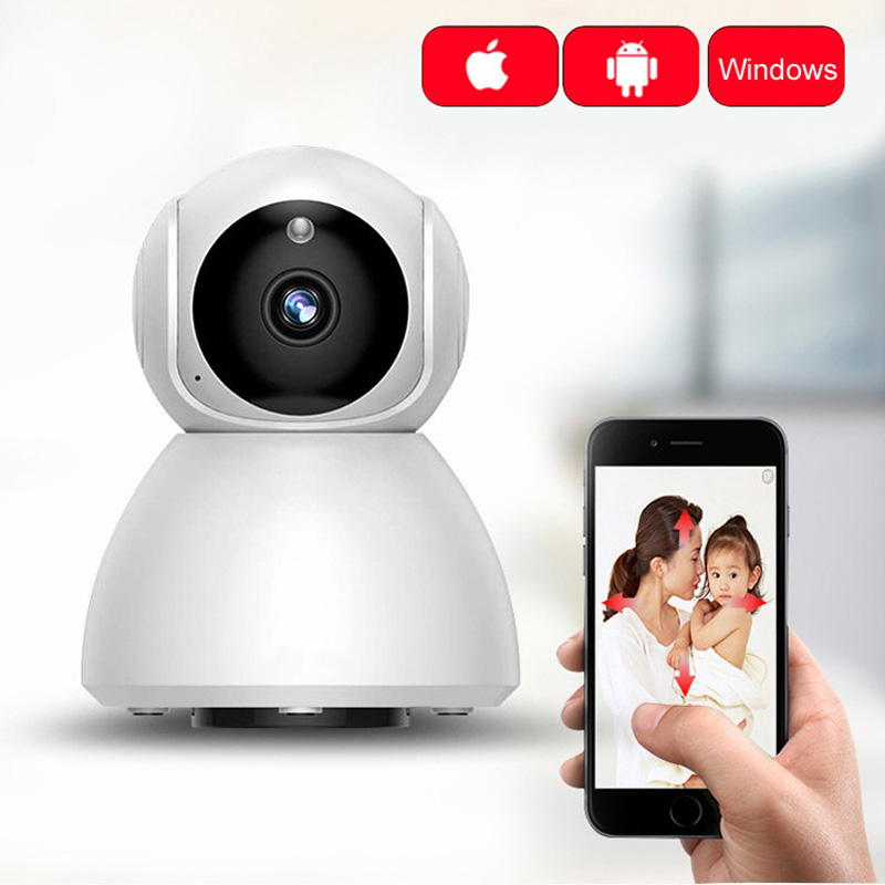 GCCAC IP WiFi Camera 1080P Wireless Smart Cam Home Security Surveillance PTZ Motion Wi Fi Monitor TF Card IPcam Wi-Fi Camera 2MPGCCAC IP WiFi Camera 1080P Wireless Smart Cam Home Security Surveillance PTZ Motion Wi Fi Monitor TF Card IPcam Wi-Fi Camera 2MP