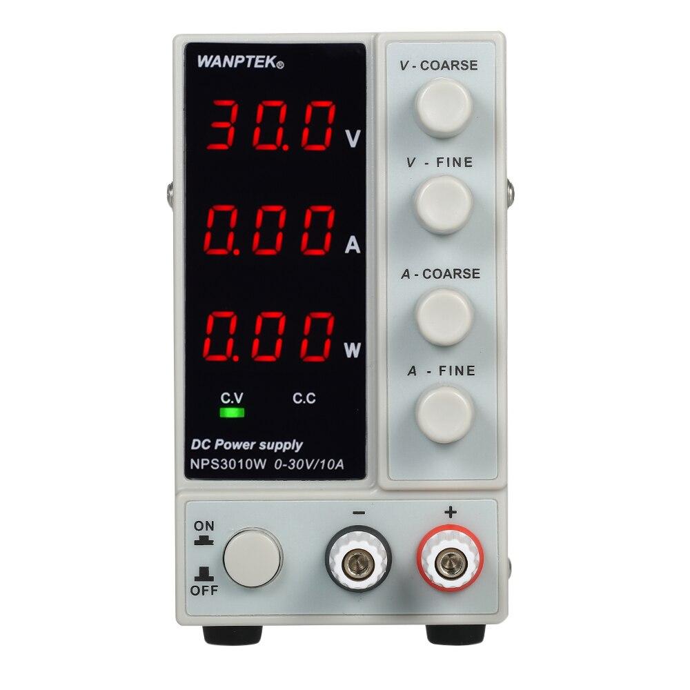 30 V 10A LED affichage réglable régulateur de commutation DC alimentation ordinateur portable réparation réparation 0-230 v