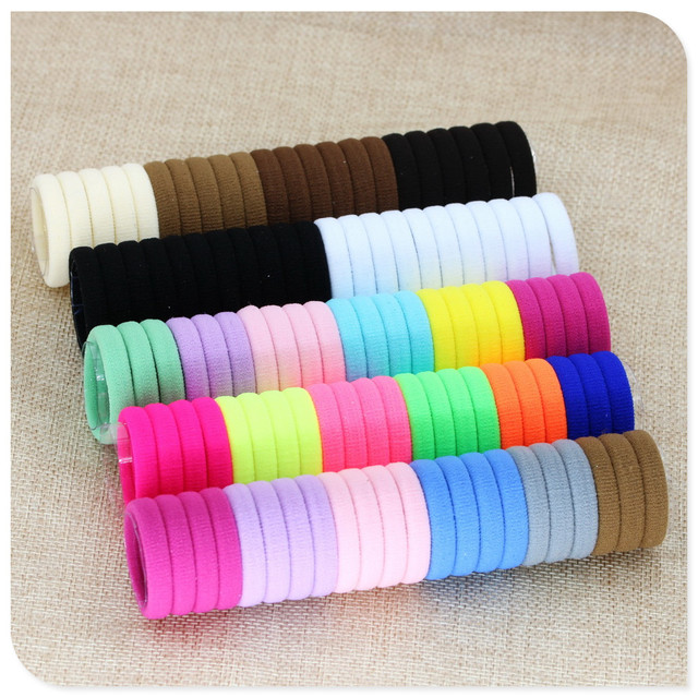 40 Pc elastic hair Rubber Bands holder