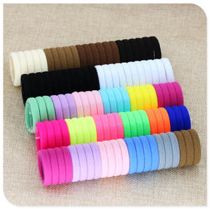 40 Pc Girl Hair accessories Gum Rubber Bands isnice