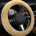 1 pc faux fur car steering wheel cover warm and anti-slip factory direct sale lowest price shipping free