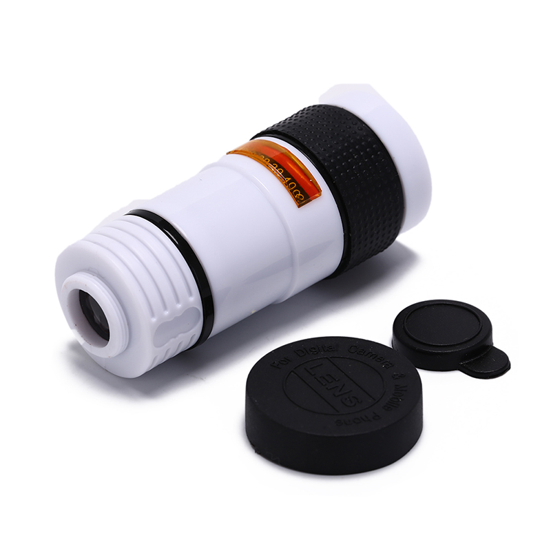 Universal Mobile Phone Telephoto Lens 8X Zoom Optical Telescope Camera Lens For Smartphone