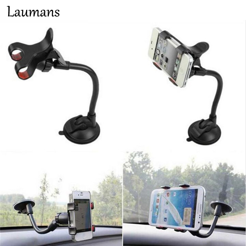 Laumans 360 Degree Rotating angle Car Phone Holder For iphone 6 plus Stand Shockproof Phone Support for samsung Stand holder