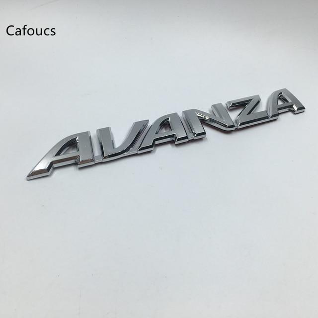 Trunk Lid Grand New Avanza Vs Mobilio Cafoucs For Toyota Avensis Aygo Century Chrome Badge Emblem