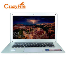 CrazyFire 14 дюймов ноутбук с Celeron J1900 Quad Core 8 ГБ оперативной памяти и 320 ГБ HDD Windows 10 Pro Mini HDMI 1.30 веб-камера ноутбуки