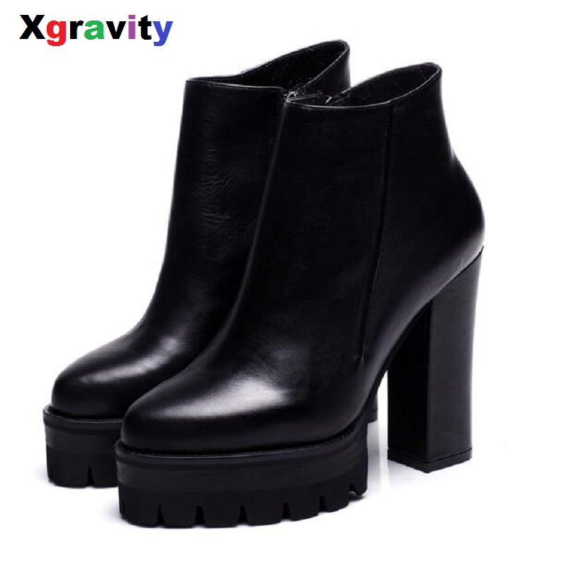 2018 Hot New Point Toe Boots Elegant High Heeled Shoes Genuine Leather Ankle Boots Comfortable Woman Dress Platform Boots S017 метательный нож s017 viking nordway