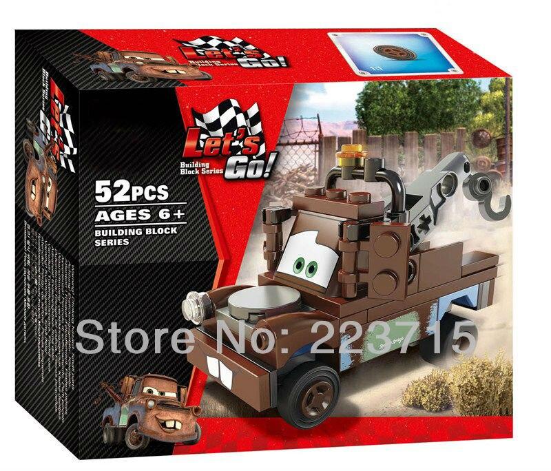 * Tow Mater * DIY mencerahkan batu bata blok, Kompatibel Dengan - Mainan bangunan dan konstruksi - Foto 2