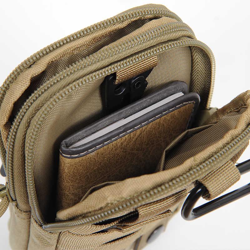 O setor Sete D30 Compacto Tactical Cintura Packs MOLLE Compatível EDC Bolsa Saco Da Cintura Dos Homens Casuais