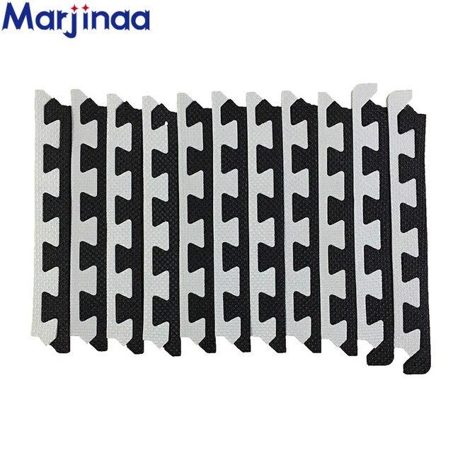 26ff2d5c512 EVA nuevos bordes blancos y negros para alfombras de espuma Borde de color  aleatorio ejercicio gimnasio