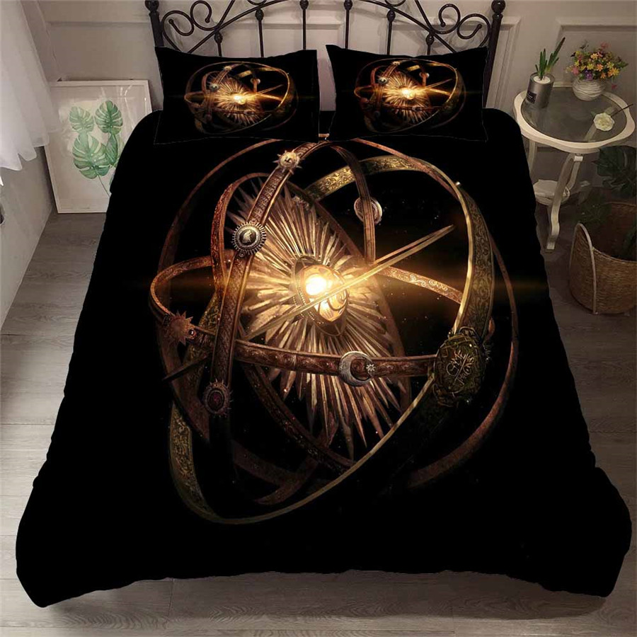 HELENGILI 3D Bedding Set game of Thrones Print Duvet Cover Set Bedcloth with Pillowcase Bed Set Home Textiles #GOT-23