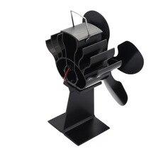 Горячая 4-Лопастной вентилятор для печи, работающий от тепловой энергии для дерева/камин-Eco