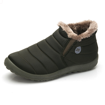 New Fashion Men Winter Shoes Solid Color...