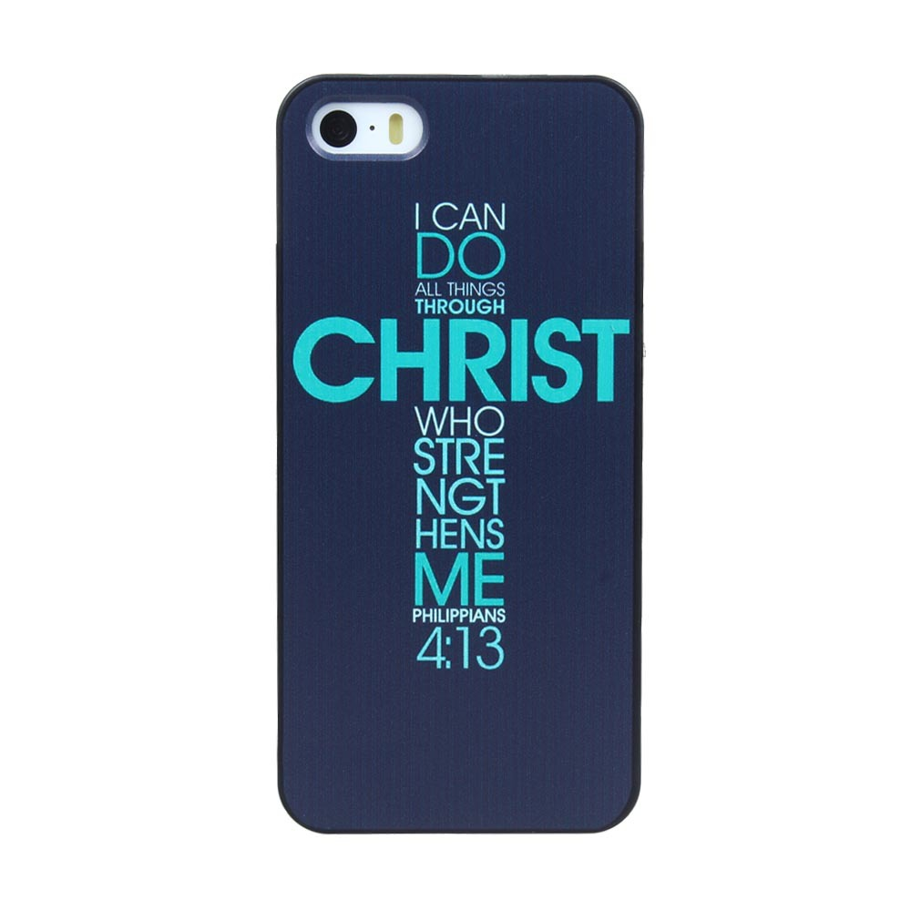 Bible Philippians Jesus Christ Christian Cross Green Quotes Phone Cases For Apple IPhone 5 Plastic Hard Case 5S On Aliexpress