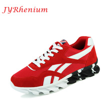 JYRhenium Autumn And Winter New Men Sneakers Male Running Shoes Trainers Lace-up Outdoor Athletic Sport Shoes Comfortable