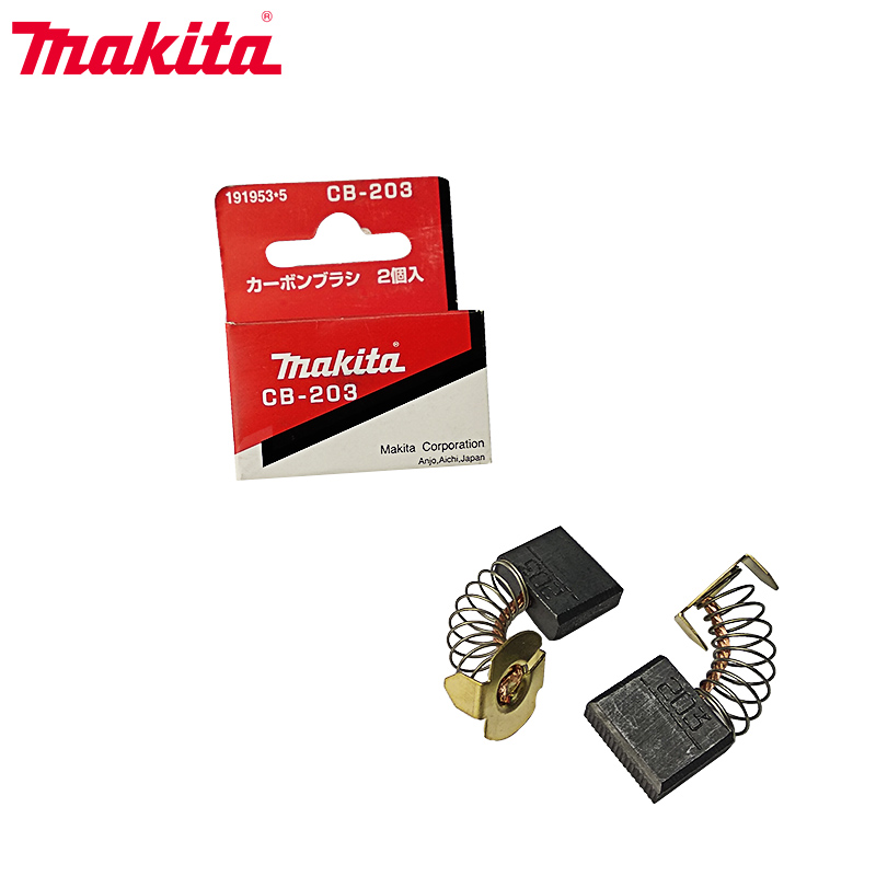 5Pairs Carbon Brushes For Makita CB203 Electric Motors  7x18x16mm