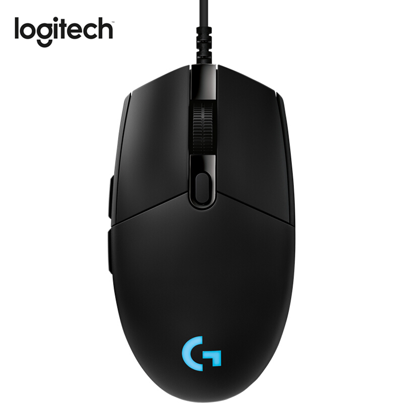 Souris de jeu Logitech G Pro souris professionnelle e-sports souris filaire avec HERO 16 K RGB pour e-sports Gamer utilisant la souris Gamer