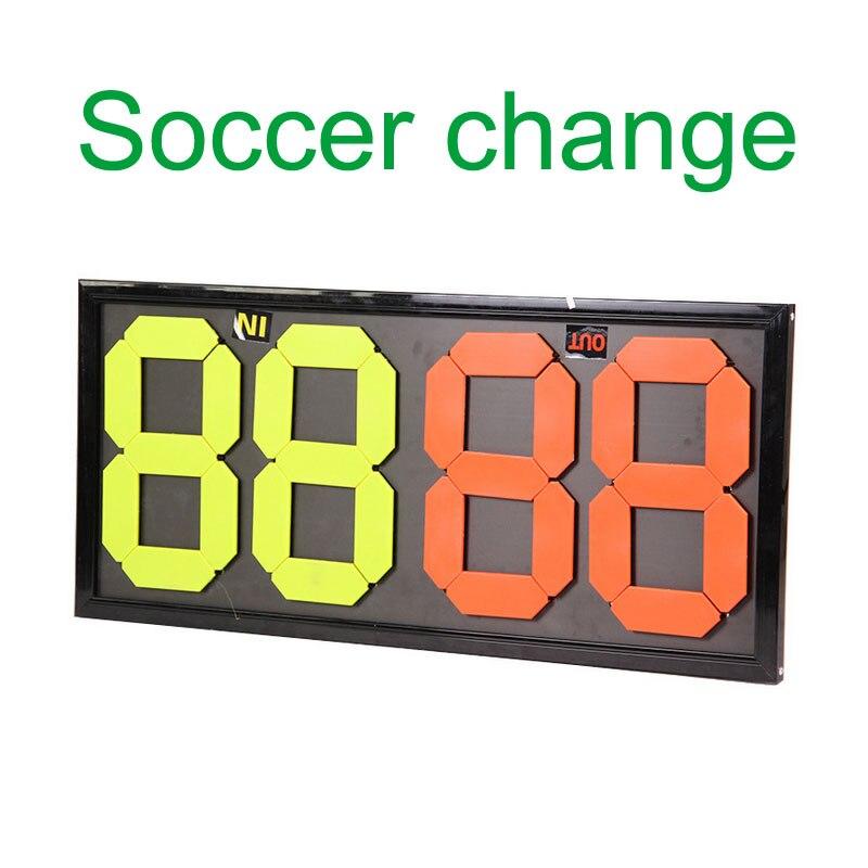 MAICCA Football changement joueur conseil Portable Football arbitre remplacement conseils arbitre équipement