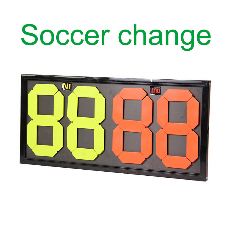 MAICCA Soccer Change Player Board Portable Football Referee Substitution Boards Referee Equipment