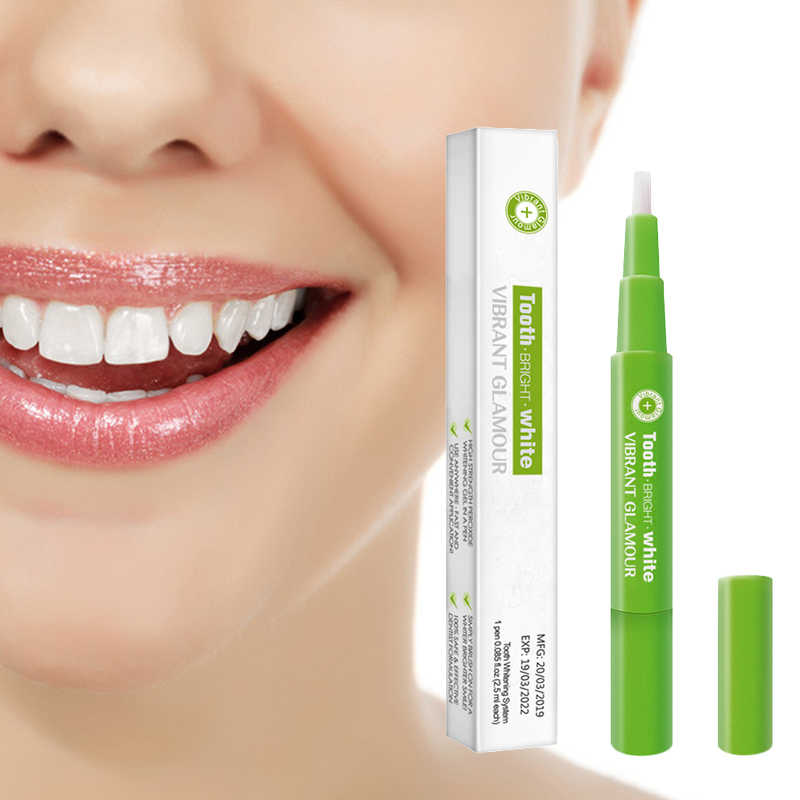 Super    HOT SALE  Popular White Teeth Whitening Pen Tooth Gel Whitener Bleach Remove Stains oral hygiene  TSLM