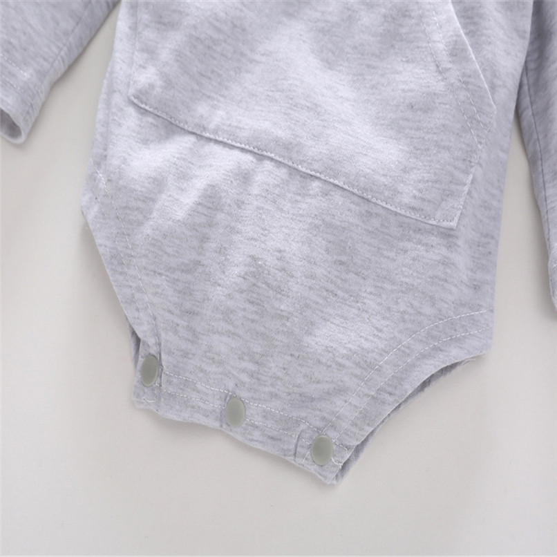2018 Baby Clothes Baby Romper Toddler Infant Baby Girl Boy Cartoon Rabbit Ear Long Sleeve Hooded Jumpsuit Romper Clothes JY12#F (15)
