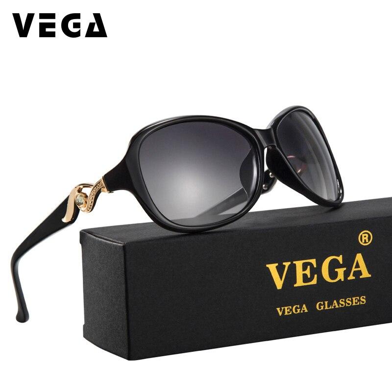 78f50d27a89 VEGA 2017 Latest Funky Novelty Sunglasses Polarized Good Visor Sunglass  Women Best Oval Glasses with Pouch