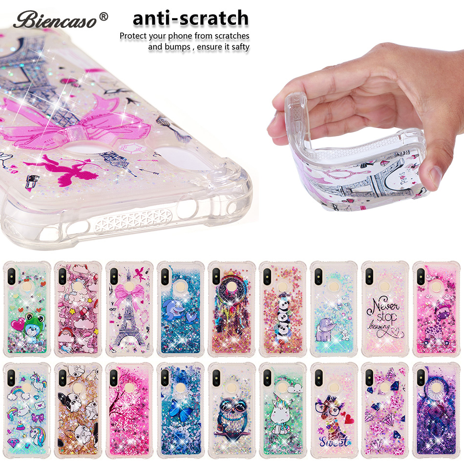 Liquid-Quicksand-Case Glitter Xiaomi Redmi Prime-Cover A2-Lite 5-Plus No 5A for A1 5X