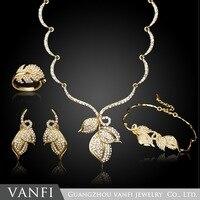عالية الجودة يغيب مجموعات المجوهرات الساحرة ارتفع الذهب اللون العصرية الكلاسيكية تصاميم المجوهرات دبي مجموعة هدايا للنساء