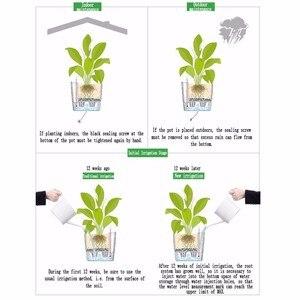 Image 5 - Creatieve Automatische Wateropname bloempot voor Desktop Indoor Kantoor decoratie Grote Plastic Lui bloempot Hydrocultuur